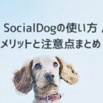 socialdog 使い方 評判